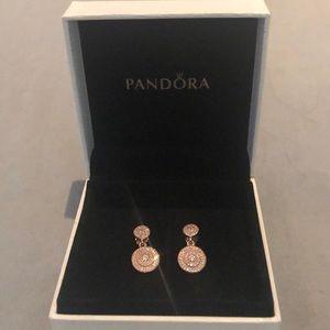 PANDORA Radiant Elegance Earrings(retail $100)